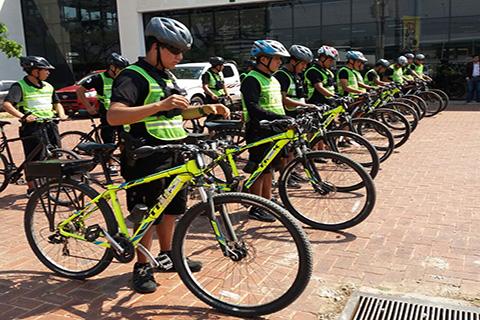 Policias-en-bicicletas-reforzaran-seguridad-ciudadana-en-Santa-Cruz