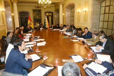 Entre-seis-y-ocho-ministros-serian-ratificados-por-Evo---