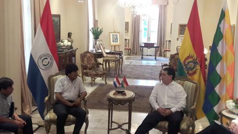 Los-presidentes-de-Paraguay-y-Bolivia-se-reunen-en-Asuncion