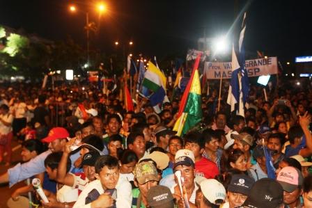Militancia-del-MAS-festeja-sus-11-anos-en-el-Gobierno