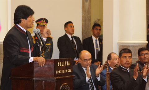 Evo-pide-a-su-gabinete-luchar-contra-el-machismo,-la-corrupcion-y-mejorar-el-trato-al-pueblo