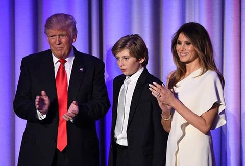 La-Casa-Blanca-pide-respeto-para-el-hijo-pequeno-de-Donald-Trump