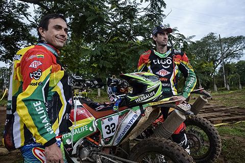El--Chavo--Salvatierra-alcanza-el-puesto-27-y-es-el-mejor-boliviano-en-motos-de-la-segunda-etapa