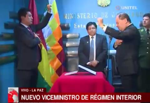 Jose-Luis-Quiroga-jura-como-nuevo-viceministro-de-Regimen-Interior-y-Policia