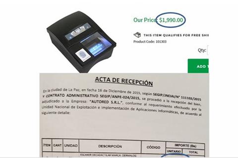 SEGIP-compro-escaneres-en-un-monto-de-Bs-5,2-millones-superior-al-precio-de-mercado