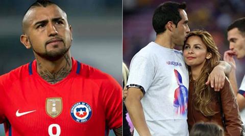 Polemica-tras-la-eliminacion-de-Chile:-el-enigmatico-mensaje-de-Vidal-y-de-la-esposa-de-Bravo