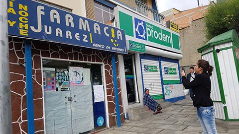 Ministra-de-salud-inspecciona-farmacias-ante-anuncio-de-cierre-y-emite-instructivo