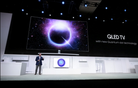 Samsung-lanza-su--QLED-TV--en-Paris