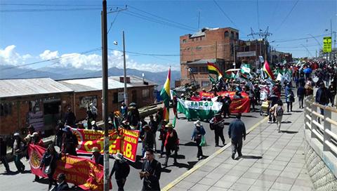 Marcha-de-maestros-llega-a-La-Paz-y-el-gobierno-la-critica-