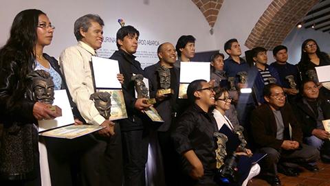 Mas-de-un-centenar-de-artistas-y-creadores-fueron-galardonados-con-el-Premio-Eduardo-Abaroa