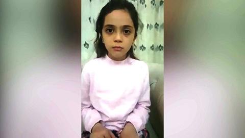 Nina-siria-de-7-anos-le-agradecio-a-Donald-Trump-por-los-ataques-aereos