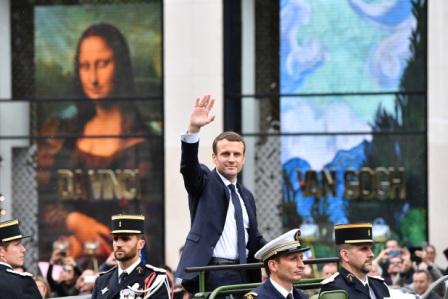 Emmanuel-Macron-asume-su-mandato-en-Francia