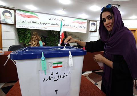 Masiva-participacion-ciudadana-en-eleccion-presidencial-de-Iran