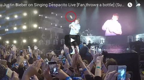 Justin-Bieber-se-niega-a-cantar--Despacito--y-un-fan-le-lanza-un-objeto-a-la-cabeza