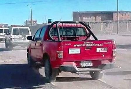 En-Chile-denuncian-que-camioneta-robada-fue-usada-por-Policia-de-Bolivia-en-entrega-de-carabineros