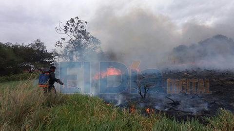 Reportan-incendio-en-la-Avenida-Perimetral,-temen-que-llegue-a-las-casas