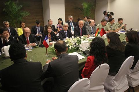 Bolivia-y-Chile-inician-en-Santa-Cruz-reunion-del-Comite-de-Fronteras