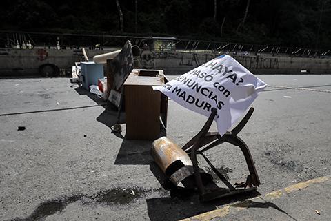 Venezuela-cumple-paro-de-48-horas-en-rechazo-a-la-Constituyente