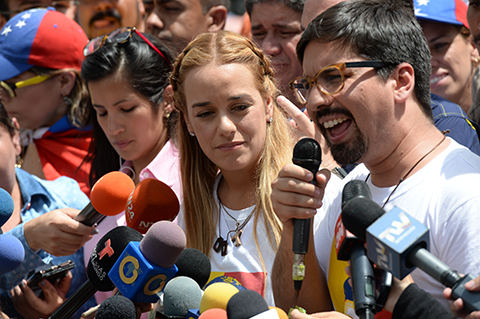 Venezuela-cumple-100-dias-de-protestas,-con-Leopoldo-Lopez-fuera-de-prision