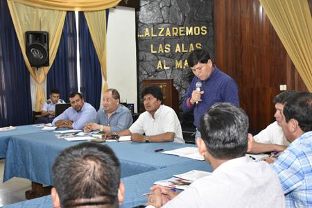 Evo-Morales-coordina-con-los-alcaldes-la-entrega-de-recursos-y-obras-para-septiembre