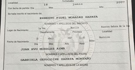 Anulan-certificado-de-nacimiento-del-hijo-inexistente-de-Evo-y-Gabriela-Zapata