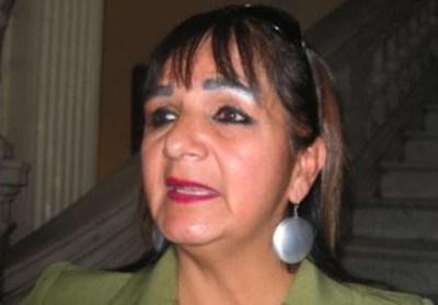 Senadora-Carmen-Eva-Gonzales-denuncia-al-ministro-Carlos-Romero