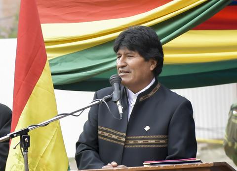 Evo-lamenta-que-pequenos-grupos-den-mala-imagen-tras-los-acontecimientos-en-La-Paz