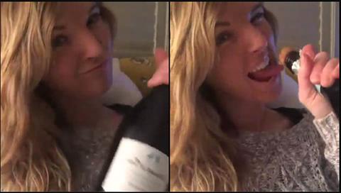 Video:-Una-joven-casi-pierde-un-ojo-al-abrir-una-botella-de-champan