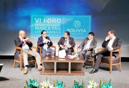 Resultado de imagen para BOLIVIA CELEBRA FORO INTERNACIONAL DE MARCA PAÍS