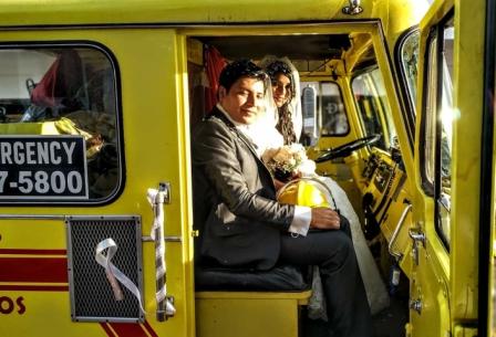 Su--limusina--fue--un-carro-bombero