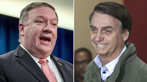 Mike-Pompeo-y-Jair-Bolsonaro-hablaron-sobre-la-colaboracion-entre-Estados-Unidos-y-Brasil-ante-la-crisis-venezolana