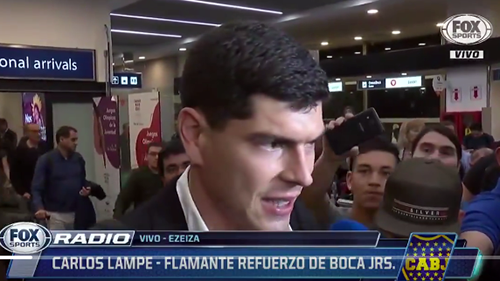 El-portero-Carlos-Lampe-llega-a-Buenos-Aires-para-integrarse-al-trabajo-de-Boca-Junior