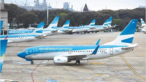 Huelga-obliga-a-cancelar-258-vuelos-de-Aerolineas-Argentinas