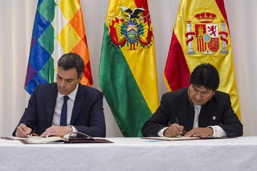 Espana-aportara-14,7-millones-de-euros-a-Bolivia-para-proyectos-de-agua