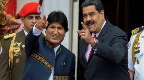 Evo-acusa-a-EEUU-y-a-la-oposicion-de-amenazar-con-intervenir-Venezuela