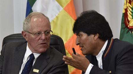 Evo-Morales-pide-formalmente-a-su-homologo-del-Peru,-que-permita-a-Maduro-participar-de-la-Cumbre-de-la-Americas