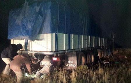 Policia-captura-2-camiones-de-contrabando-en-Uyuni
