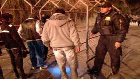 La-policia-detiene-a-14-ebrios-armados-que-participaban-de-la-peregrinacion