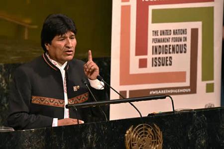 Evo-Morales-manifiesta-su-desacuerdo-por-los-bombardeos-a-Siria-y-llama-a-la-paz