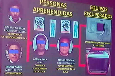 Policia-recupera-equipos-robados-a-la-CNS-de-La-Paz