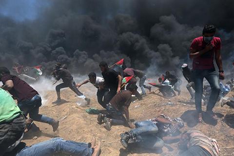 Protestas-por-traslado-de-embajada-de-EEUU-a-Jerusalen-deja-41-palestinos-muertos