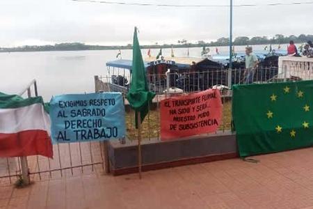 En-Guayaramerin-protestan-con-cierre-total-de-la-frontera