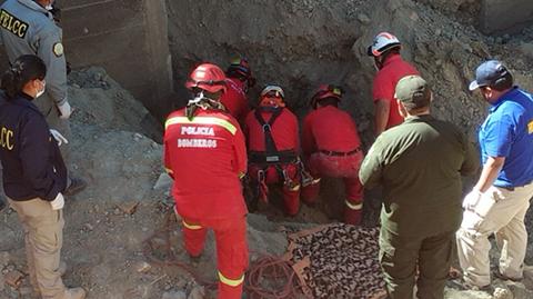 La-Paz:-Fallecen-dos-obreros-tras-deslizamiento-de-tierra-en-construccion