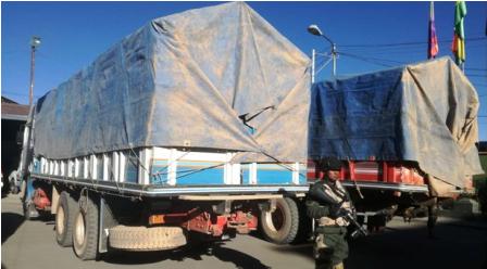 Secuestran-2-camiones-repletos-de-contrabando