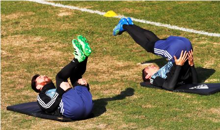 Argentina-juega-contra-Haiti-en-La-Bombonera