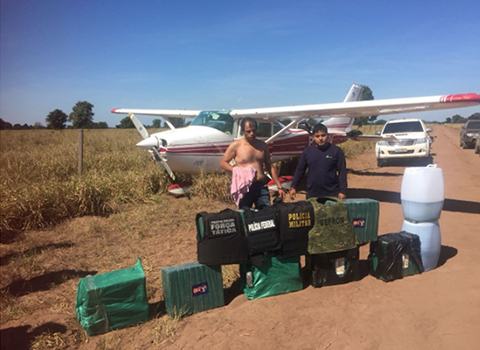 Brasil-intercepta-aeronave-con-droga-y-detiene-a-un-militar-boliviano