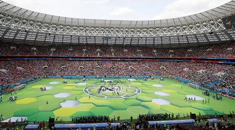 Rusia-inaugura-la-21ª-Copa-del-Mundo-con-una-corta-ceremonia-musical