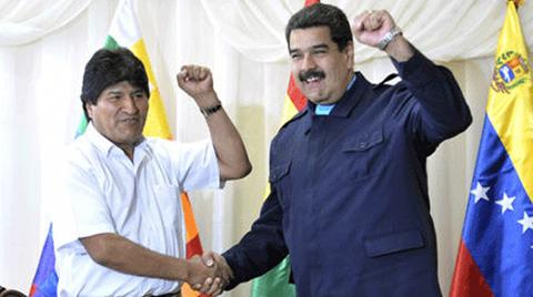Evo-califica-de-antidemocratica-la-resolucion-de-OEA-contra-el-regimen-de-Maduro-