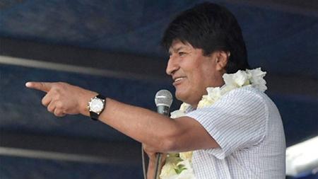 El-presidente-Morales-justifica-su-viaje-a-Rusia,-argumentando-una-firma-de-inversion-para-hidrocarburos