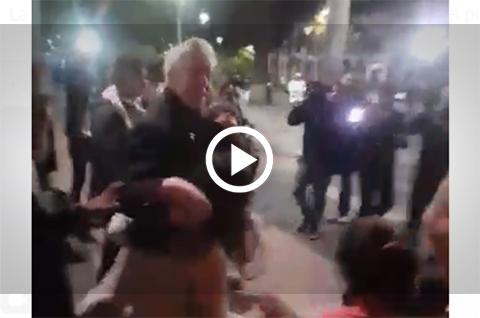 Activistas-gritan-al-vice--Bolivia-Dijo-No--en-un-acto-publico-en-Santa-Cruz